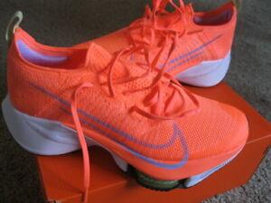 NEW Nike Air Zoom Tempo Next% FK Flyknit $200 Bright Mango Women's EUR 39 US 8 M
