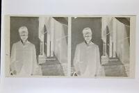 Ritratto Uomo Tipo Africano Foto Stereo Negativo Su Film Morbido Ca 1911
