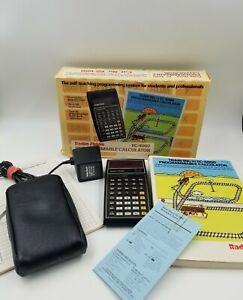 Vintage Radio Shack EC-4000 65-650 Programmable Calculator RARE-Tested&Works