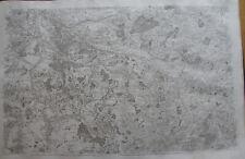 CASSINI CARTE IN PLANO 630mm X 950 mm, 1808, CHINON LOUDUN , n° 66 , 11 F,