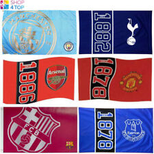 OFFICIAL FOOTBALL SOCCER CLUB LARGE FLAG ROOM MATCH FAN ACCESSORIES NEW