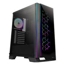 Antec NX600 Mid Tower Gaming Case - Black USB 3.0