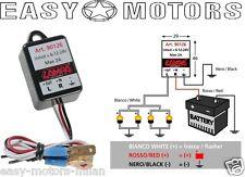 90126 Intermittenza elettronica 6/12/24V per le frecce a led - auto moto scooter