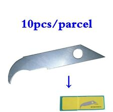 10 PCS Sharp Acrylic Hook Knife Blade, Olecranon Blades For Craft Knife Cutter