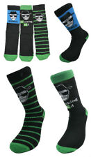 Men Breaking Bad Socks Pack of Three Different Designs 6-11 Shoe Size