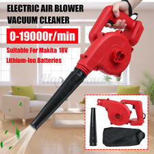Cordless Blower Vacuum Yard Garden Leaf Dust Tool For Makita 18V Li-ion Battery