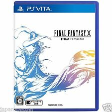 Ps Vita Final Fantasy x HD Remaster Sony Playstation Japanese Import