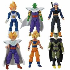 6 pcs set Dragon ball z Action Figures Dragonball Z DBZ Toy Goku Anime From UK