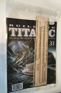 1/250 Hachette Build The Titanic Model Ship Issue 33 Inc Part Pictured.