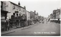 Tudor Cafe Northbrook Street Newbury unused RP old pc Landscape View