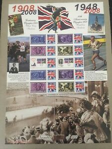 100TH ANNIV. OF THE OLYMPICS HISTORY OF BRITAIN SERIES NO 26. ONLY 500 ISSUED