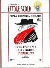Dvd «CHE STRANO CHIAMARSI FEDERICO» di Ettore Scola nuovo digipack 2013