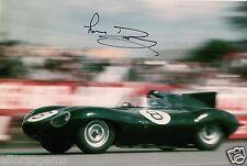 """Le Mans 24 Driver Norman Dewis Hand Signed Photo Autograph 12x8"""" AC"""