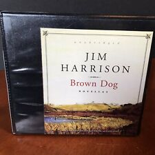 Jim Harrison Audio Book CD Set Brown Dog Novellas BD Collection Unabridged
