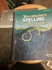 ABeka Book Vocabulary, Spelling IV
