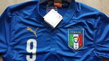 Puma Trikot neu  Größe 116 Italien Balotelli Beflock Nummer 9 Farbe blau