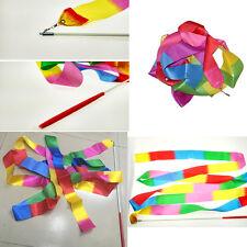 ColoredRibbon Gymnastics Dancer Toys Outdoor Games For Kids Sport Toys^v^