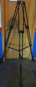 Manfrotto 546B Tripod with 75mm Half Ball Mount & Mid Level Spreader!