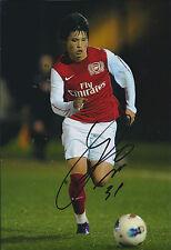 Ryo MIYAICHI SIGNED Autograph 12x8 Arsenal Photo AFTAL COA Japanese Footballer