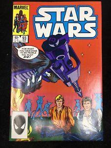Star Wars #93 'Catspaw!' (1985 Marvel Comics) 9.2 NM- Unread!