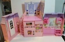 Vintage 1997 BarbieMeritus Deluxe Folding Pink Dream House Victorian Gothic