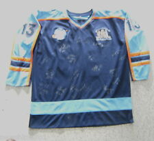 #CL8. 2007  SIGNED  NEW SOUTH WALES  BROOMBALL TEAM JERSEY