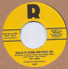Rockabilly: RAY CAMPI-Ballad Of Donna & Peggy Sue/Man I Met REAL (2011 Version)