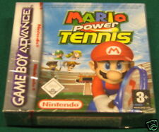 Videogame GAME BOY ADVANCE&NDS MARIO POWER TENNIS