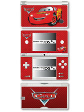 Cars Lightning McQueen Vinyl Skin Sticker for Nintendo DSi XL