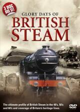 Glory days of British Steam Boxset Railway Steam Train Very Good Condition VGC
