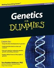 Genetics for Dummies® by Tara Rodden Robinson (2010, Paperback)