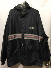FedEx Reflective Jacket with hood size 2XL