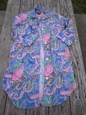 LAUREN Ralph Lauren ~ Women's Pastel Floral Pajamas ~ Size Small