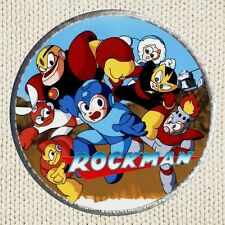 Rockman Patch Picture Embroidered Border Arcade Videogame Sega Mega Man Capcom