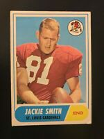 1968 Topps Jackie Smith #86 St. Louis Cardinals