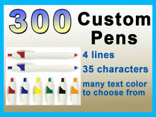 LOOK 300 Custom Imprinted Personalized Promotional Hourglass Shape CLICK PENS