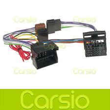Audi A3 Manos Libres parrot/bluetooth ISO Cable Adaptador Conector arnés