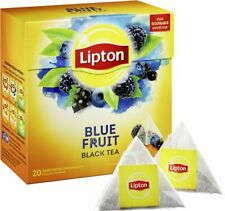 Lipton Blue Fruit Flavor Tea Silk Pyramid 20 Bags