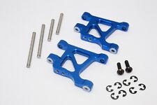 Tamiya GF01 & TL01 Upgrade Parts Aluminium Rear Lower Arm - 1Pr Set Blue