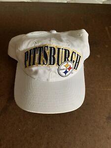 Vintage NFL PRO LONE PITTSBURGH STEELERS On Field STARTER Snapback
