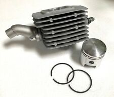 80cc G4 cylinder High Hole piston ring engine motor Silver 40mm wider intake