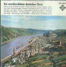"""7"""" Am Wunderschönen Deutschen Rhein (Telefunken UX 5033)"""