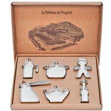 A di Alessi A di ALESSI - Progiotti, cookie cutter - ACOOKIESET Colore acciaio