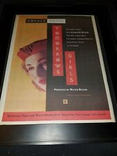 Donald Fagen Tomorrows Girls Rare Original Radio Promo Poster Ad Framed! #3