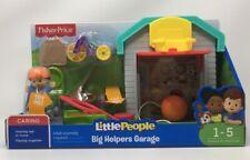 Fisher-Price Little People big Helpers Garage (1-5 Toddler to Preschool)