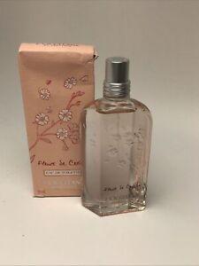 L´occitane Fleurs De Cerisier 75ml edt, damaged boxes as shown