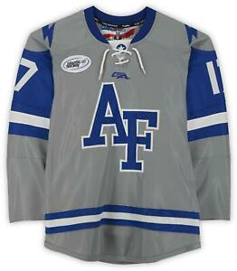 Air Force Falcons Team-Issued #17 Gray Jersey from the Athletics Item#11477368