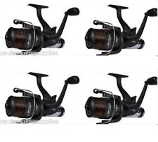 4 x Shakespeare 6000 Beta Freespool Carp Fishing Reels Bait, Switch