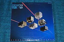 DENON DIGITAL RECORDING DEMONSTRATION RECORD pcm 45rpm LP NM w/Insert