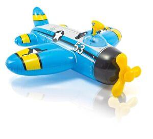 B-Ware Intex 57537  Wasserflugzeug mit Wasserpistole  In Pool Planschbecken